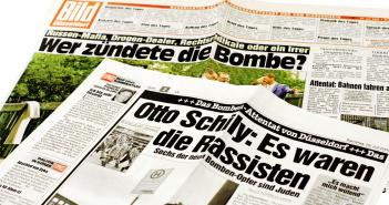 Zeitungsberichte nach dem Wehrhahn-Anschlag